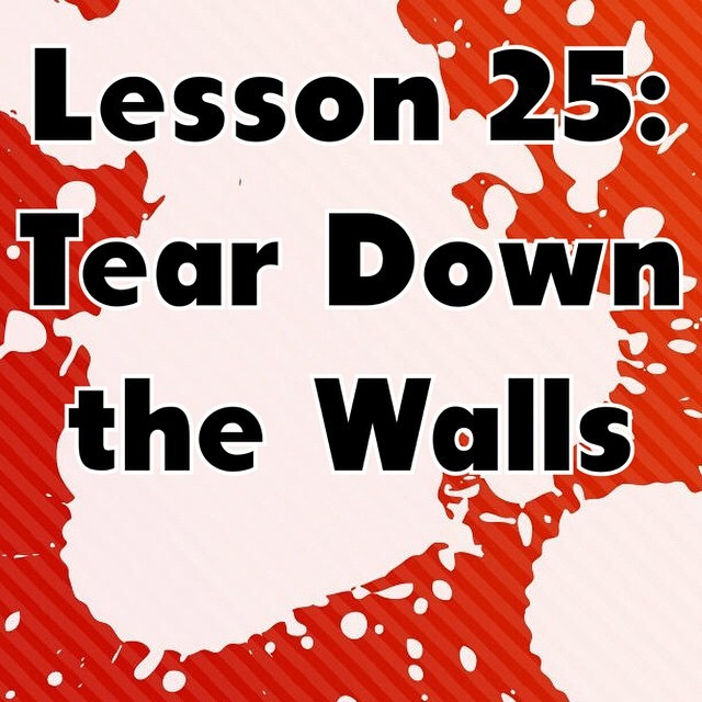 Tear Down The Walls